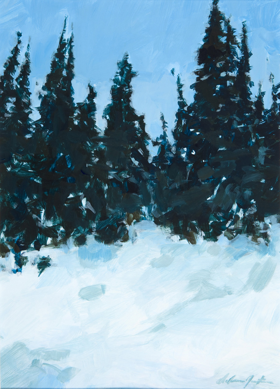 """Forest Edge"" by Dolores Justus (c) 2010"