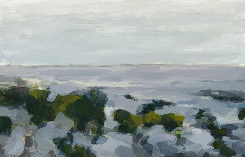 """""""Grey Horizon"""" by Dolores Justus (c)2017"""