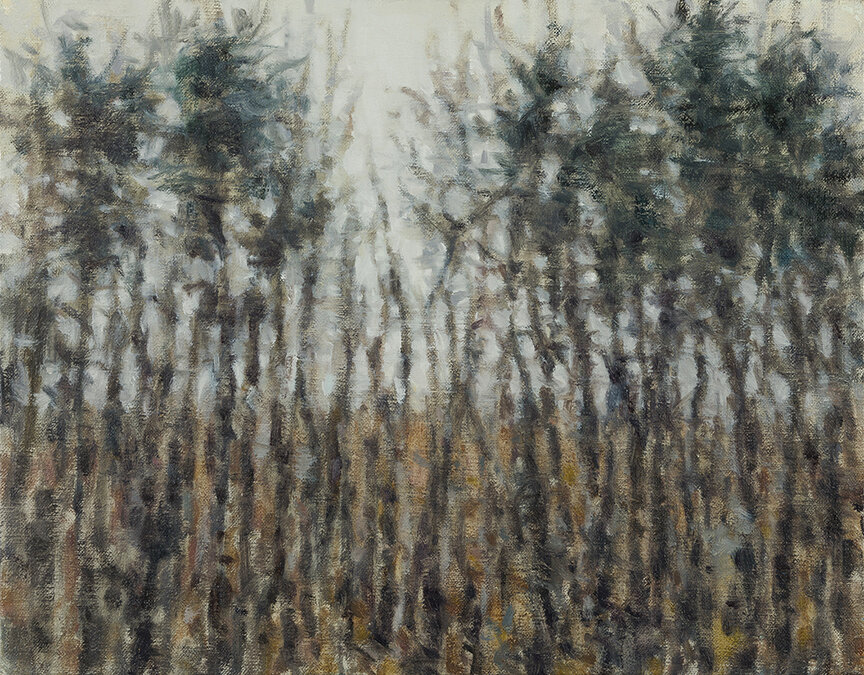 """Tree Line"" by Dolores Justus (c)2019"