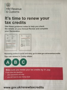 Tax Credits Renewals