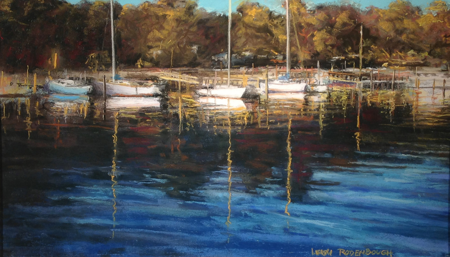 """Waterfront, Southport"" by Leigh Rodenbough"