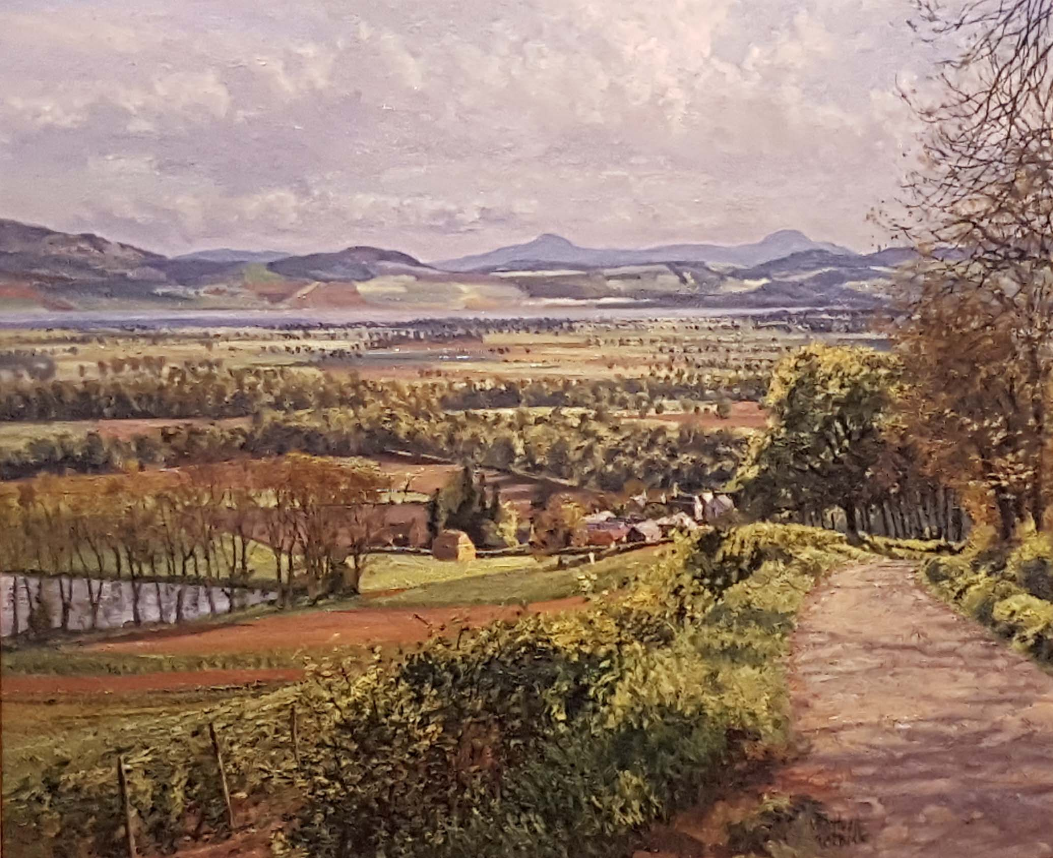 """Carse of Gowrie from Dron"" bt McIntosh Patrick"