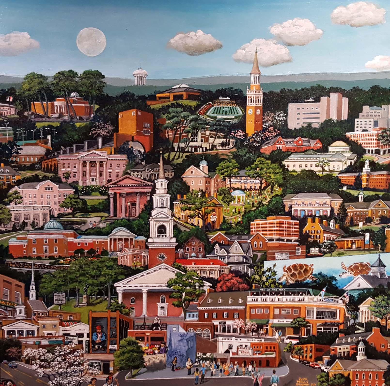 """Chapel Hill"" by Susan Wells Vaughan"