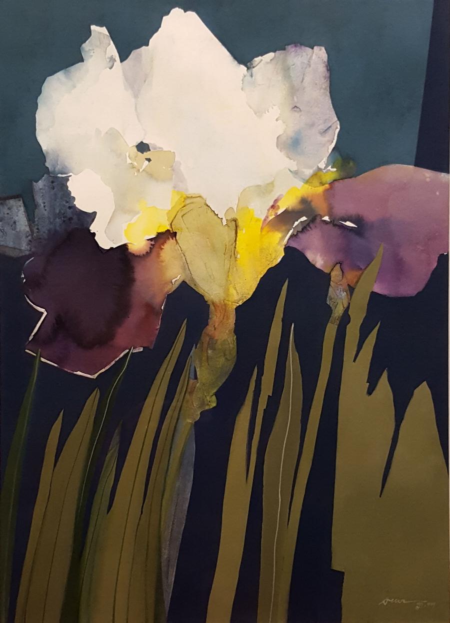 """Iris Essence"" by Pat Dews"