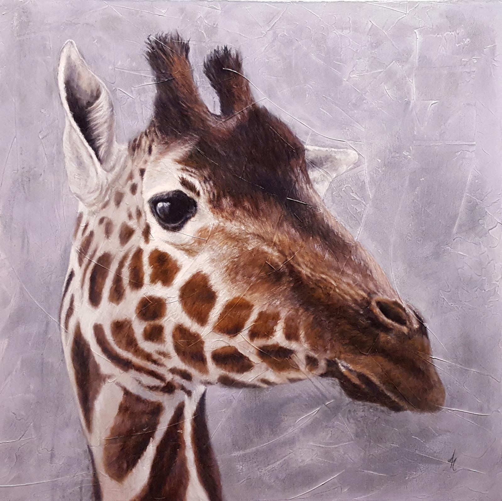 """Giraffe"" by Andrea Hennings"