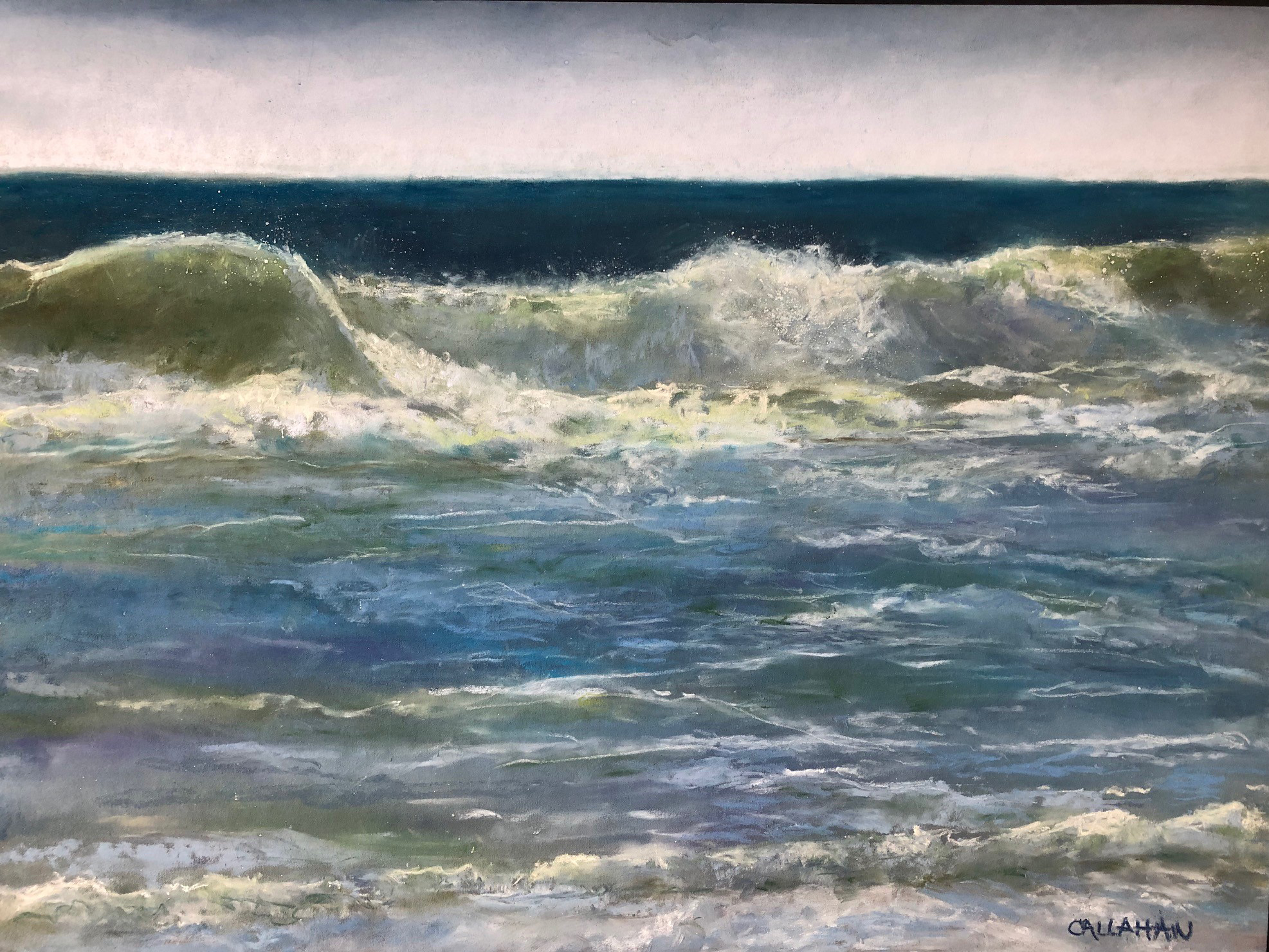 """Toss and Tumble"" (Pastel) by Lorrie Callahan"