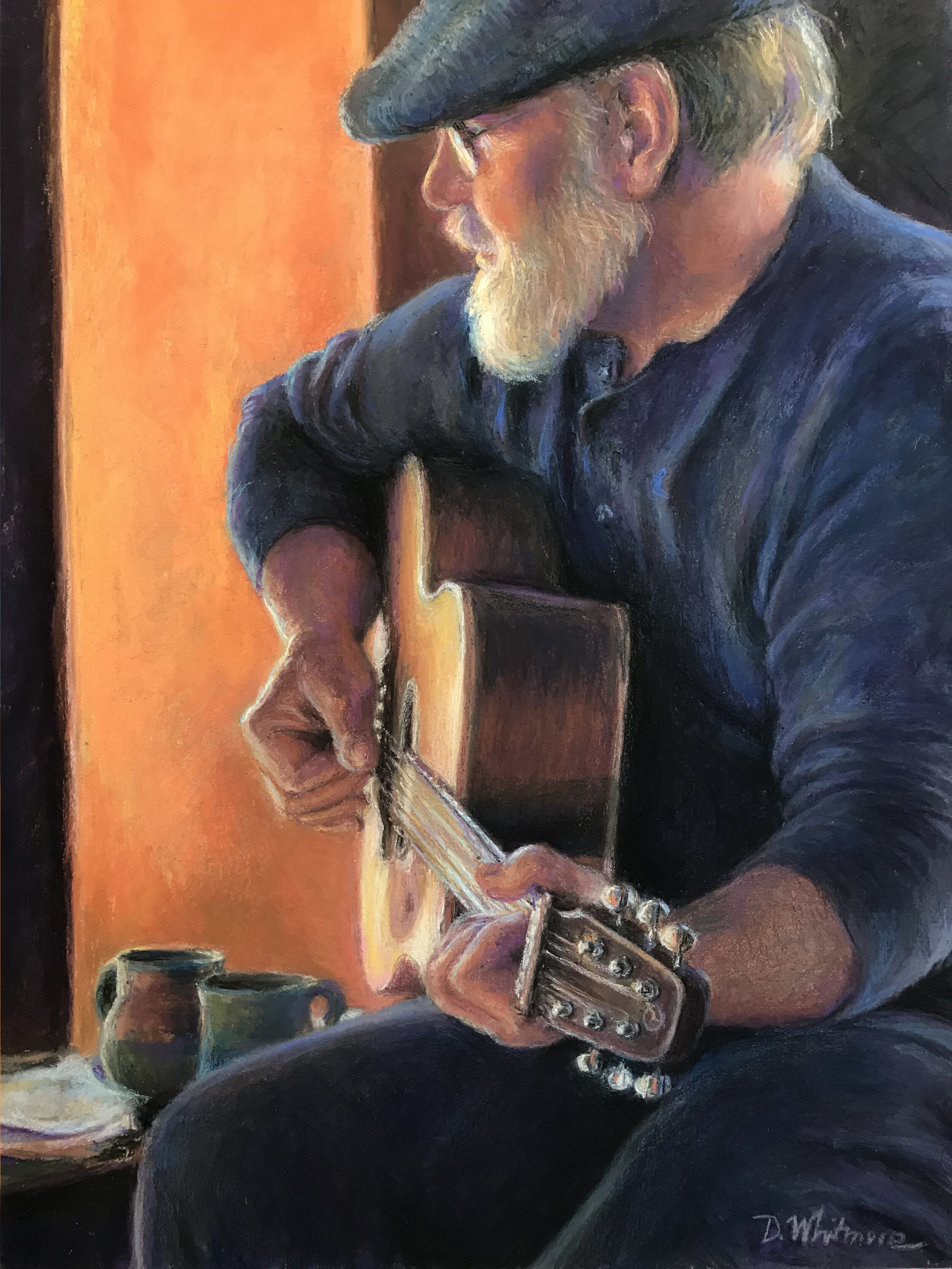 """Whit and His Guitar"" by Dorothy Whitmore"