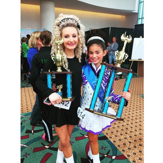 Huge congrats to our dancers today at the Celtic Spring Feis. So proud of the hard work and welcome to OC Kaleigh! #crosskeysid #irishdance #feis #nans2015