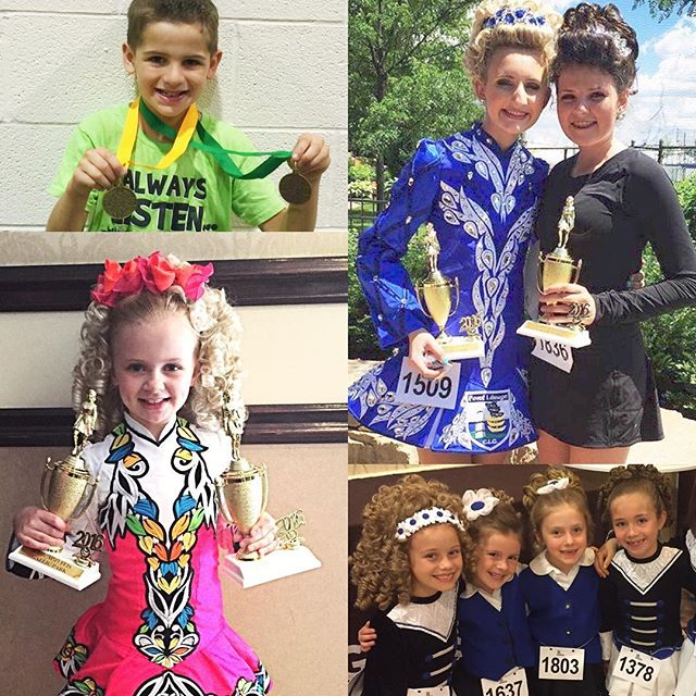 Smiles, smiles, and more smiles! So proud of all of our dancers feising this weekend! #crosskeysid #irishdance #feis
