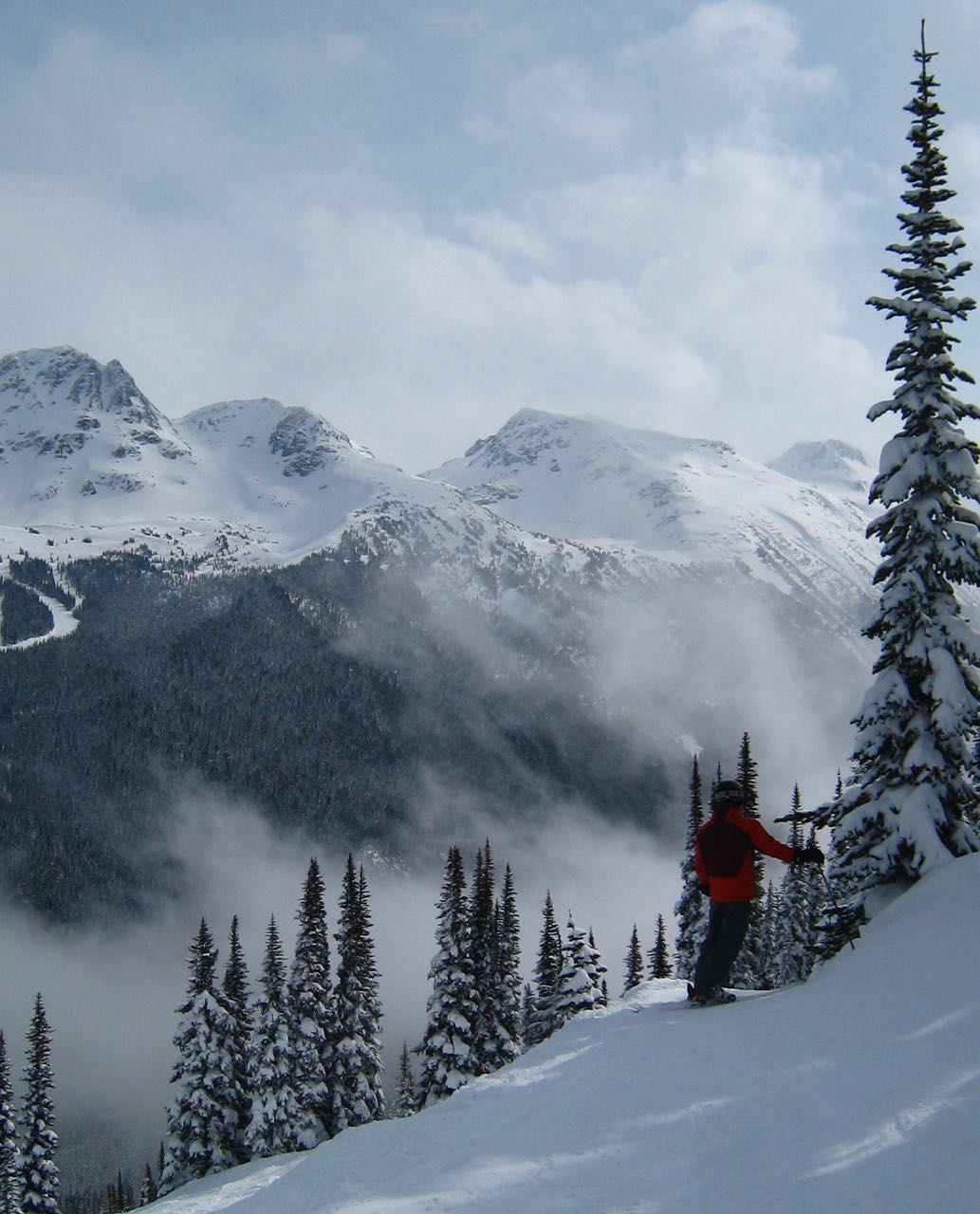 Skiing in bc