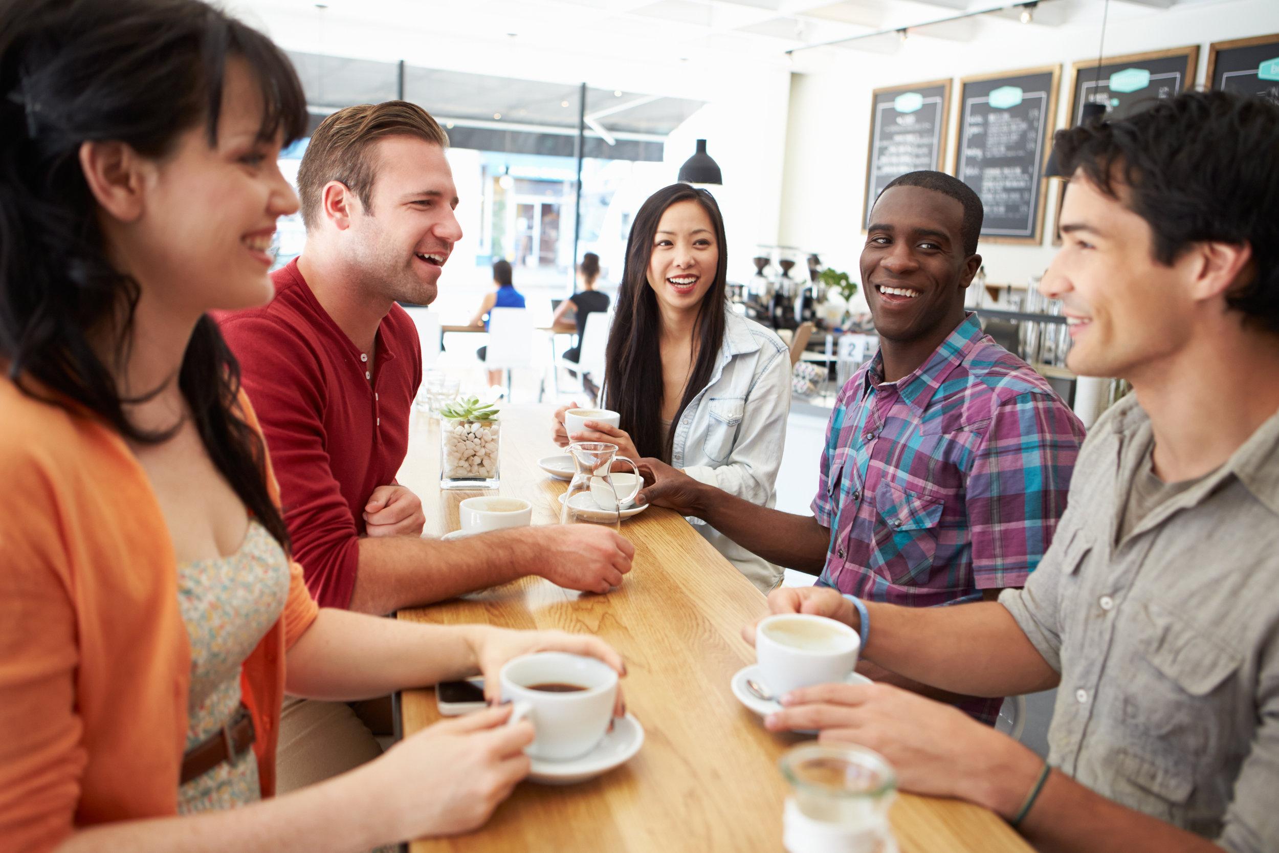 Fellowship at Redondo Beach Coffee Shop