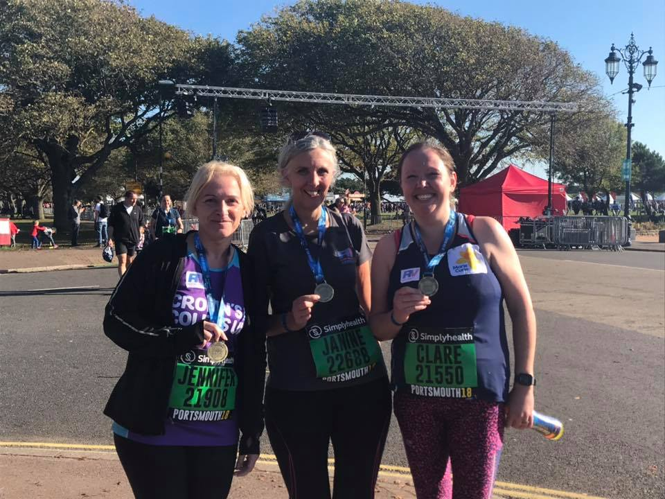We did it! - Our first GSR, so proud of us! Thank you Verity, Emily and to everyone else for your support on all the runs, the before and after. From joining as beginners you've all made us feel like we can do it and yesterday we did!!! Thank you all xx