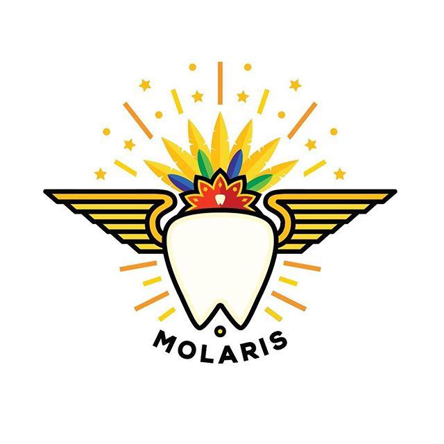 Molaris revisited. A new take on an old logo for an Orthodontics school festival in Mexico. ➡️ to see original . . . . . #logodesinger #logos #logomaker #logoinspire #logotipos #brandinginspiration #brandmark #dfwdesigner #dallasdesign #graphicdesigndaily #dallasdesigner #icondesign