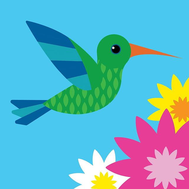 Colibrí - Concept Gift Card Art . . . . . #vectorillustration #vectorart #vectorgraphic #illustrated #giftcards #giftcarddesign #cuteaf #cutebirds #lovebirds #birdillustration #cuteillustration #greetingcarddesign #graphicdesigner #vector_art #flatillustration #design #art #dallas #texas #dfw #diseñomexicano #illustrationart #illustrationnow #illustrationhowl