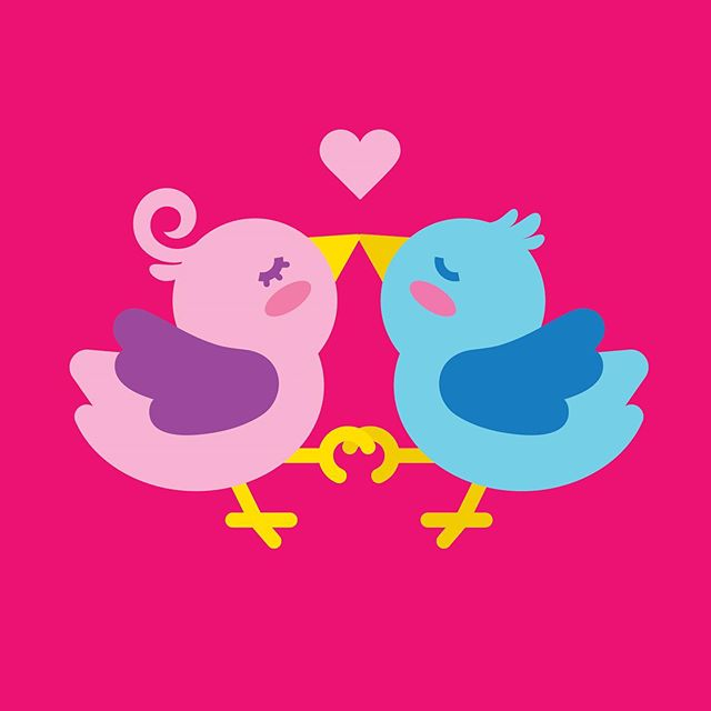 Love Birds ♥ - Concept Gift Card Art . . . . . #vectorillustration#vectorart #vectorgraphic#illustrated#giftcards #giftcarddesign#cuteaf #cutebirds #lovebirds #birdillustration #cuteillustration#greetingcarddesign #graphicdesigner#vector_art#flatillustration #design #art#dallas#texas#dfw #diseñomexicano #illustrationart #illustrationnow #illustrationhowl