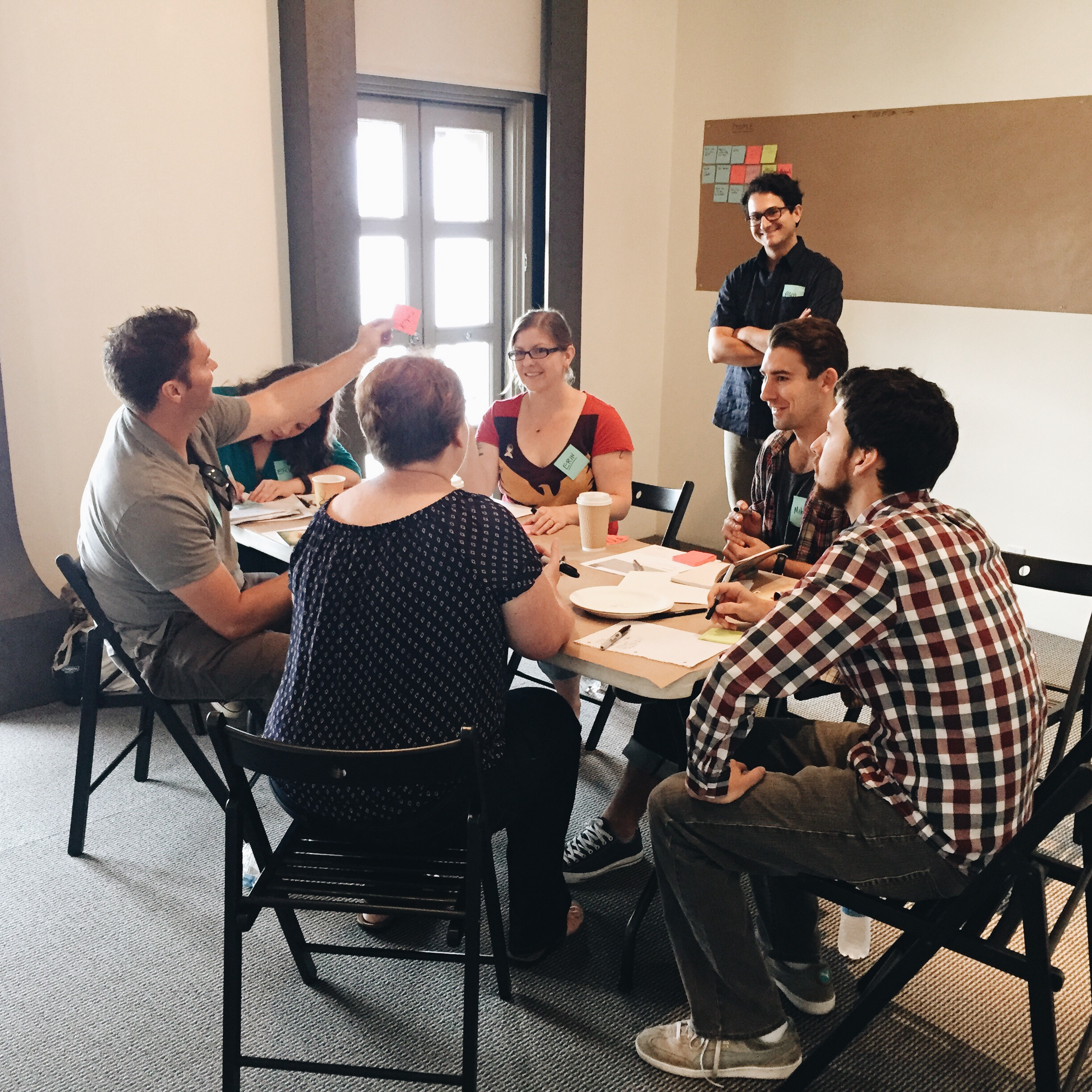 Pixel Story Studio and Hopscotch Labs joined forces to offer a training day of ethnographic research.