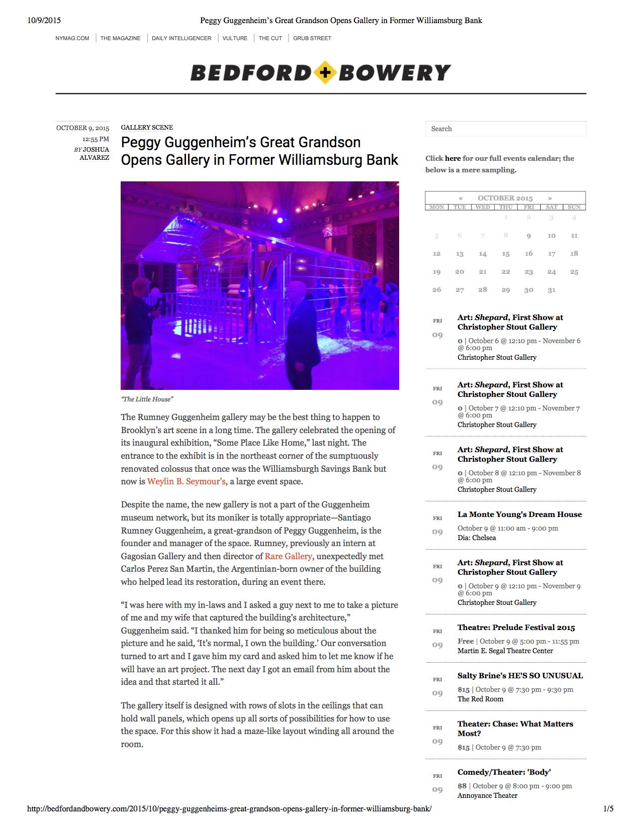 Peggy Guggenheim's Great Grandson Opens Gallery in Former Williamsburg Bank.jpg