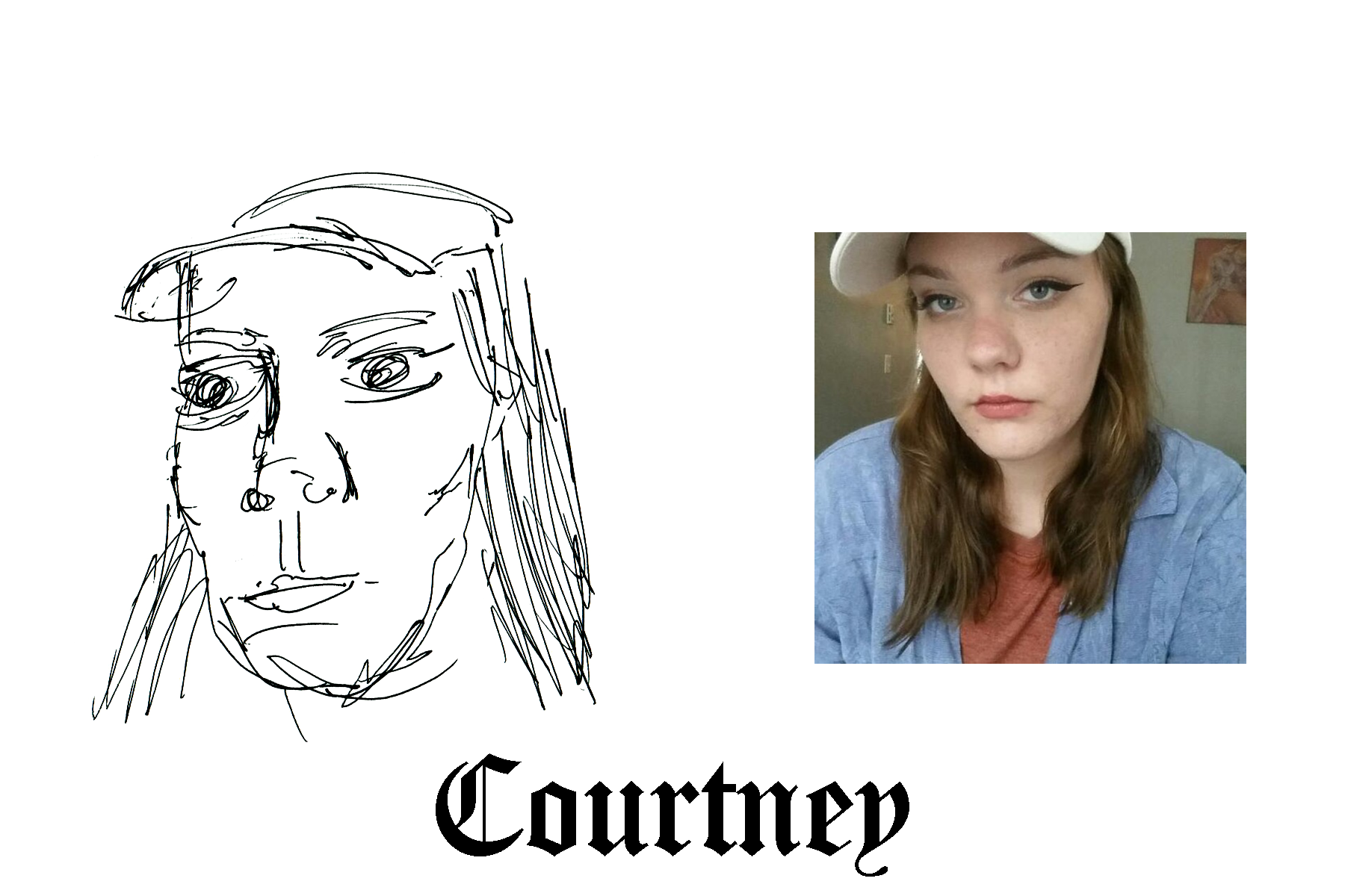 Courtney.