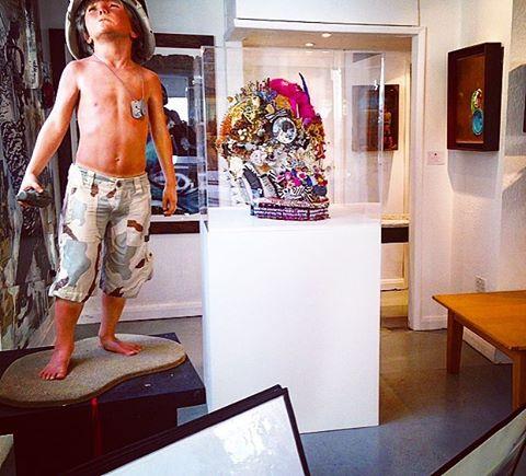 2014 SKULL EXHIBIT #contemporaryart #mixedmediaart #skull #sothebys #westbankgallery
