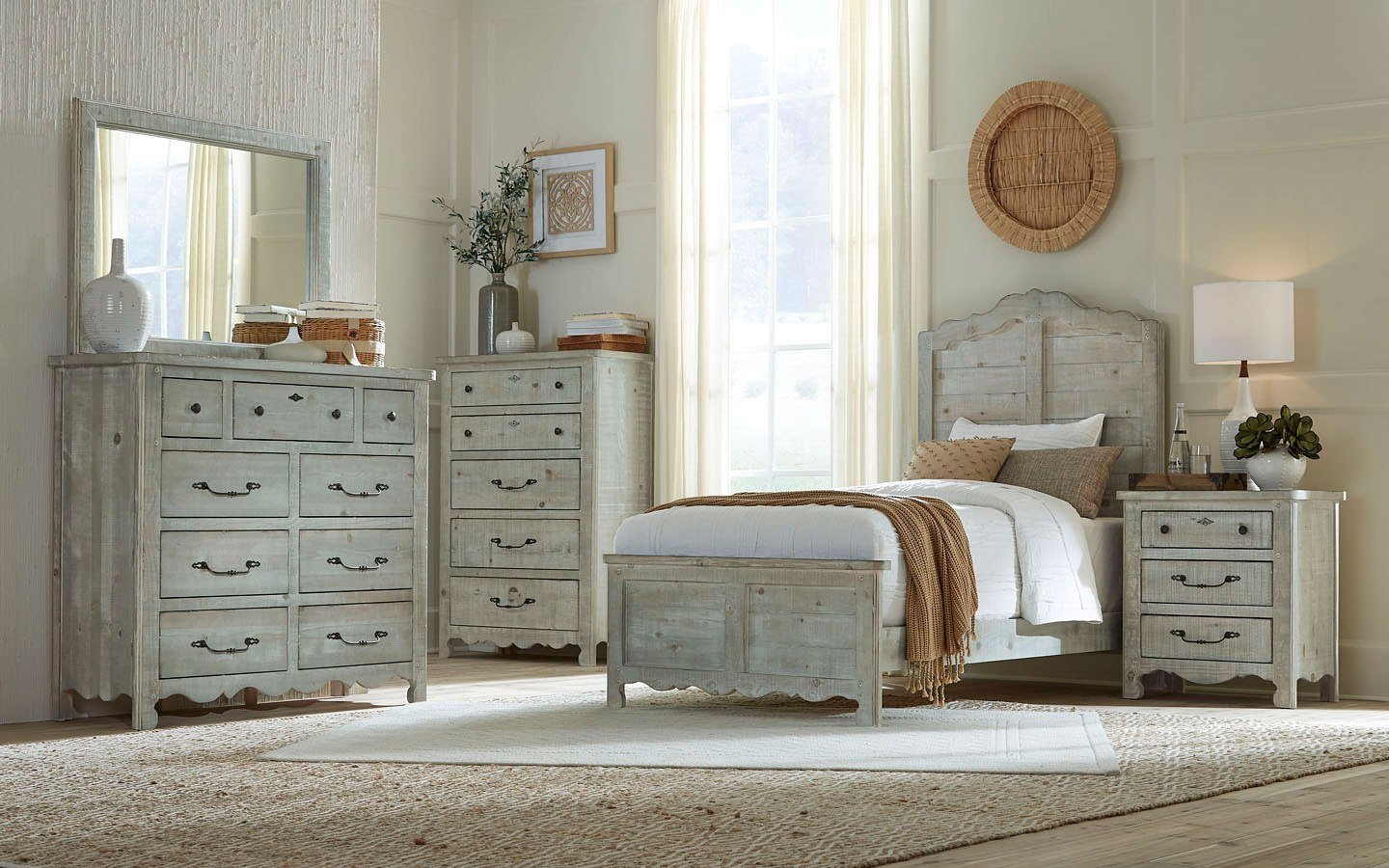 Chatsworth bedroom collection available in twin, full, queen & king