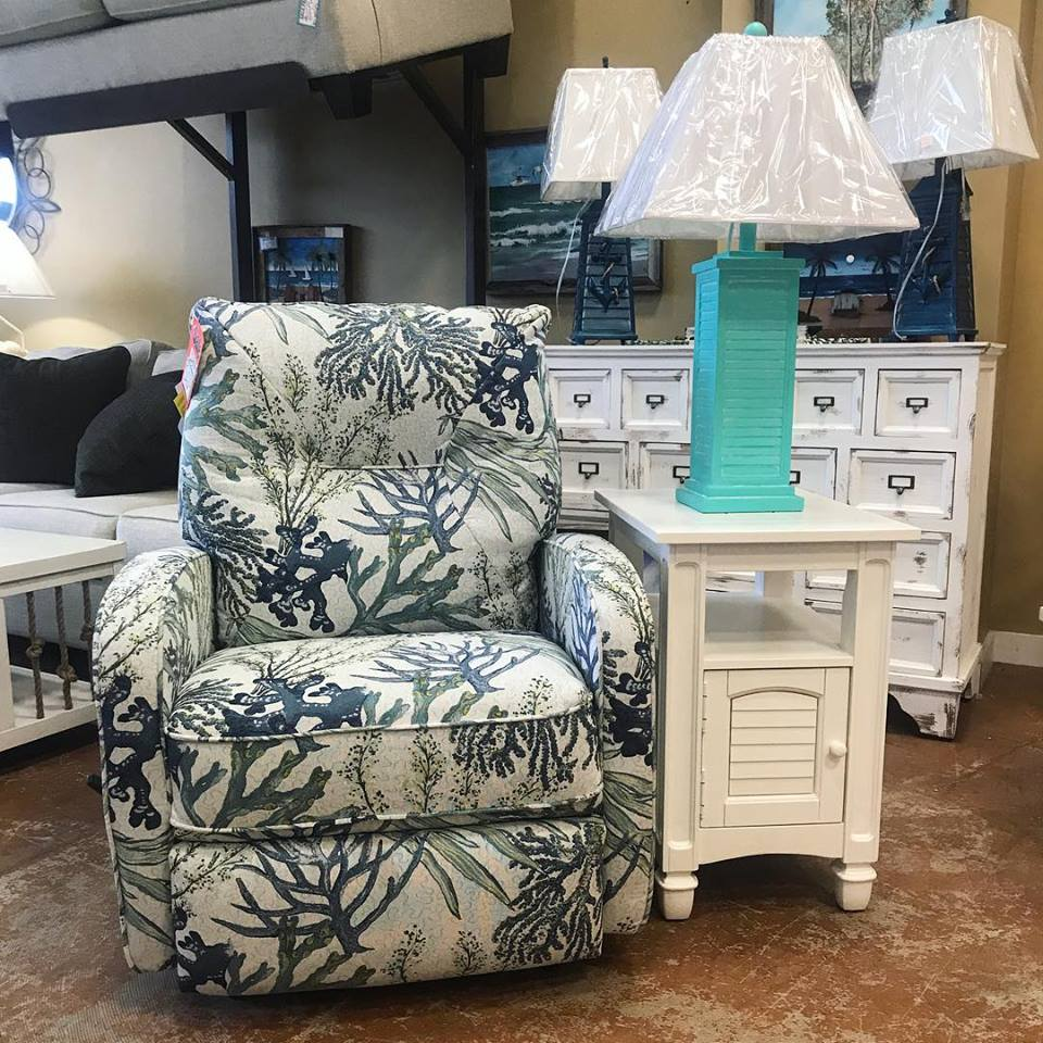 INGALL PETITE RECLINER FEATURED IN CORAL REEF OCEANSIDE