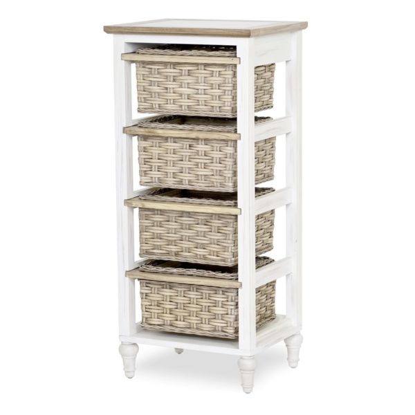 ISLAND BREEZE COLLECTION 4 DRAWER ACCENT CHEST