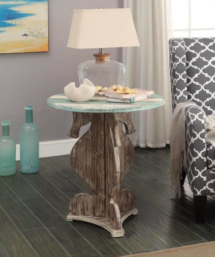 SEAHORSE ACCENT TABLE