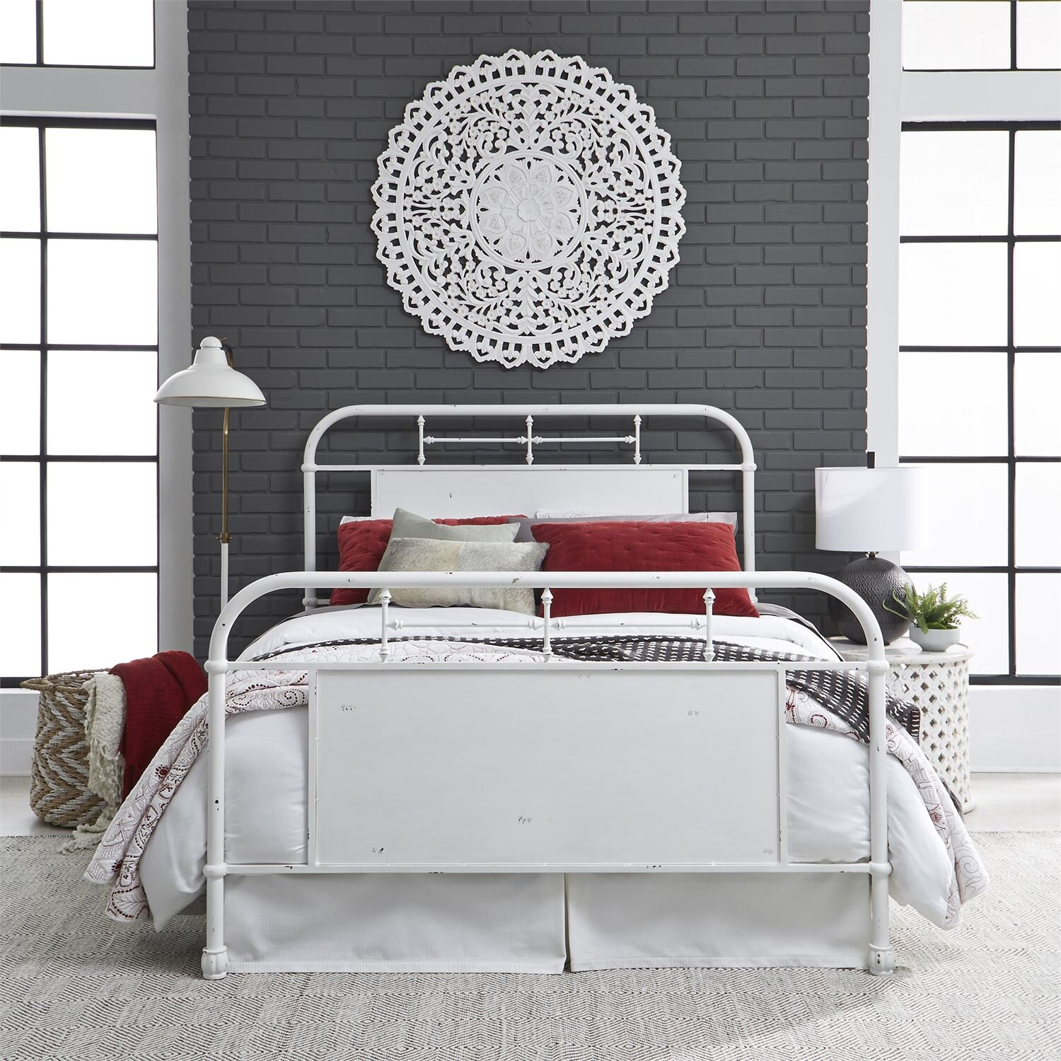 Vintage bed collection KING HEADBOARD ONLY AVAILABLE.