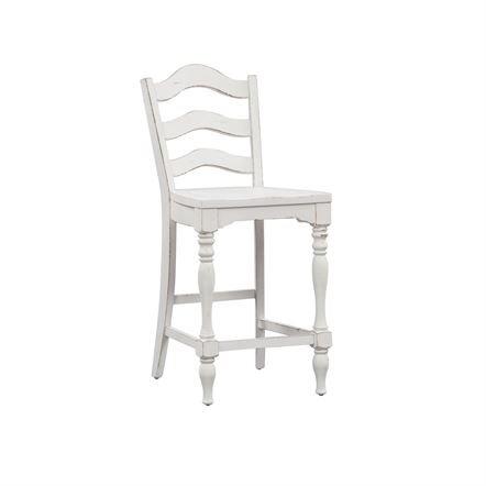 "Magnolia Manor 24"" Ladder Back Stool"
