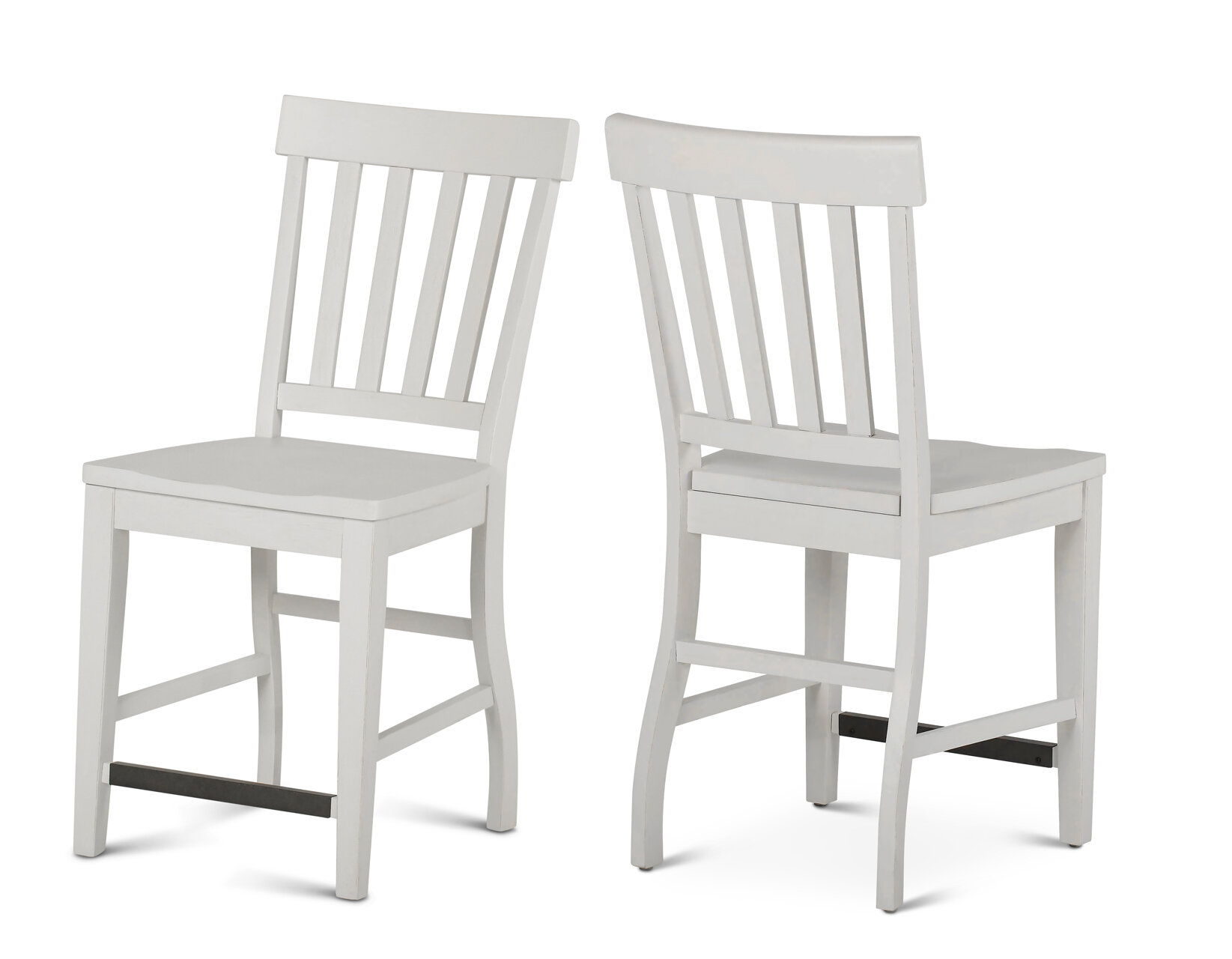 Cayla Counter Chair - White - Steve Silver