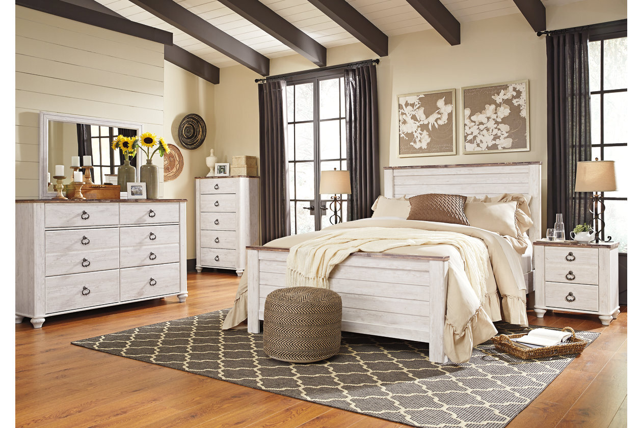 b267 bedroom collection dresser, chest & nightstand only available call for availability