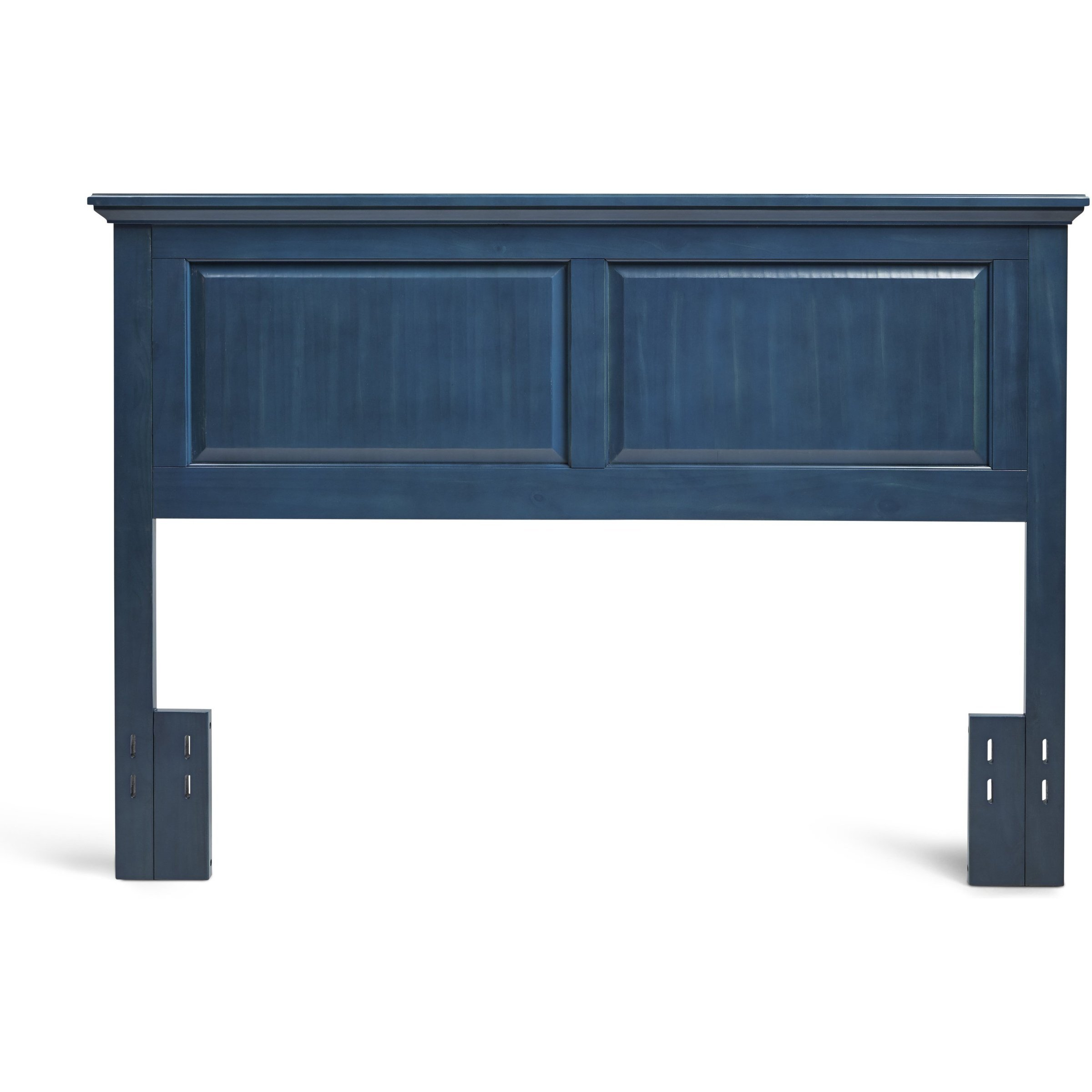 BLUE WOOD HEADBOARD AVAILABLE IN A FULL / QUEEN