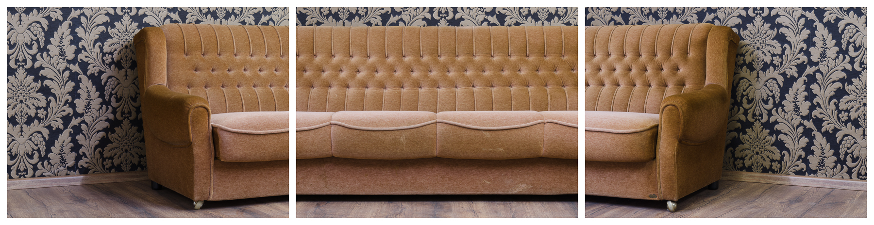 Sofa, 2016 Inkjet-Pigmentdruck 3-teilig zu je 120 × 90 cm