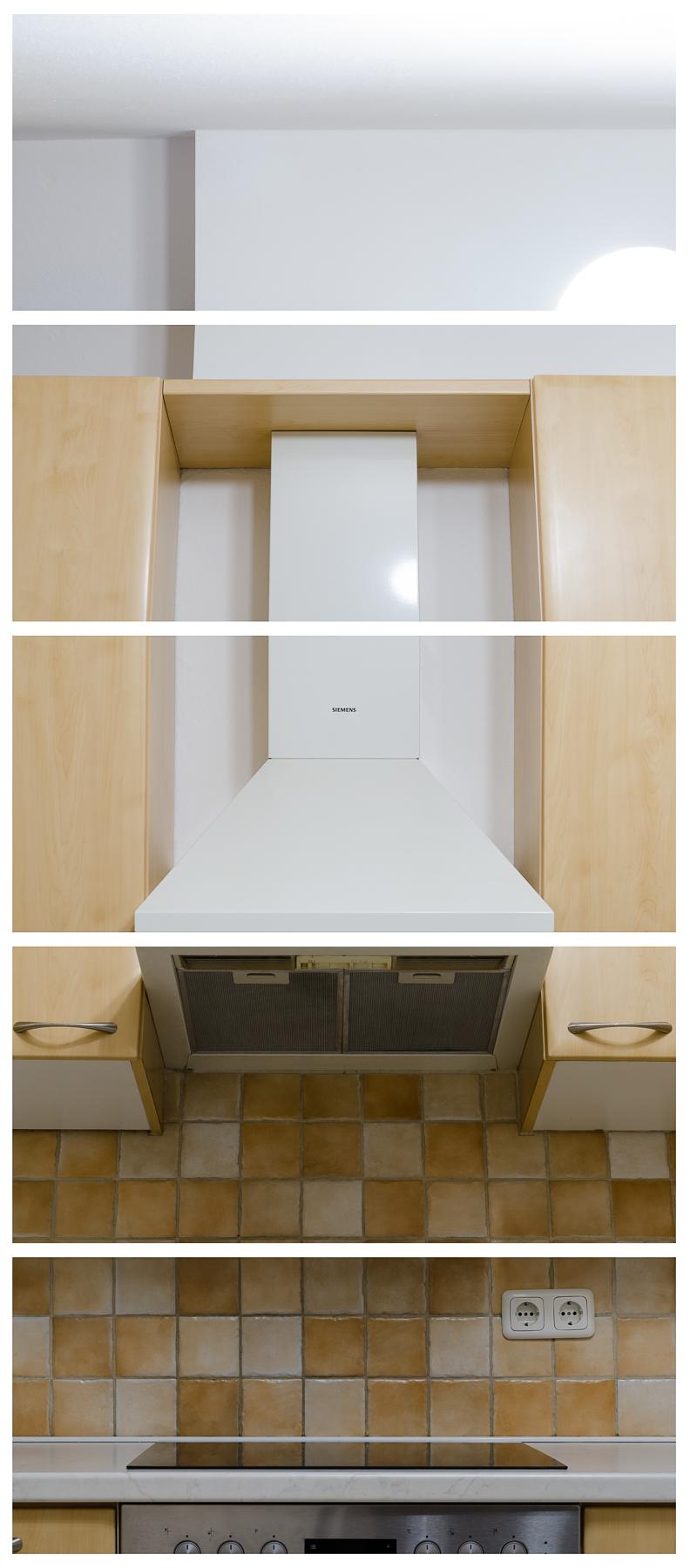 Dunstabzugshaube, 2017 Inkjet-Pigmentdruck 5-teilig zu je 95 × 42,5 cm