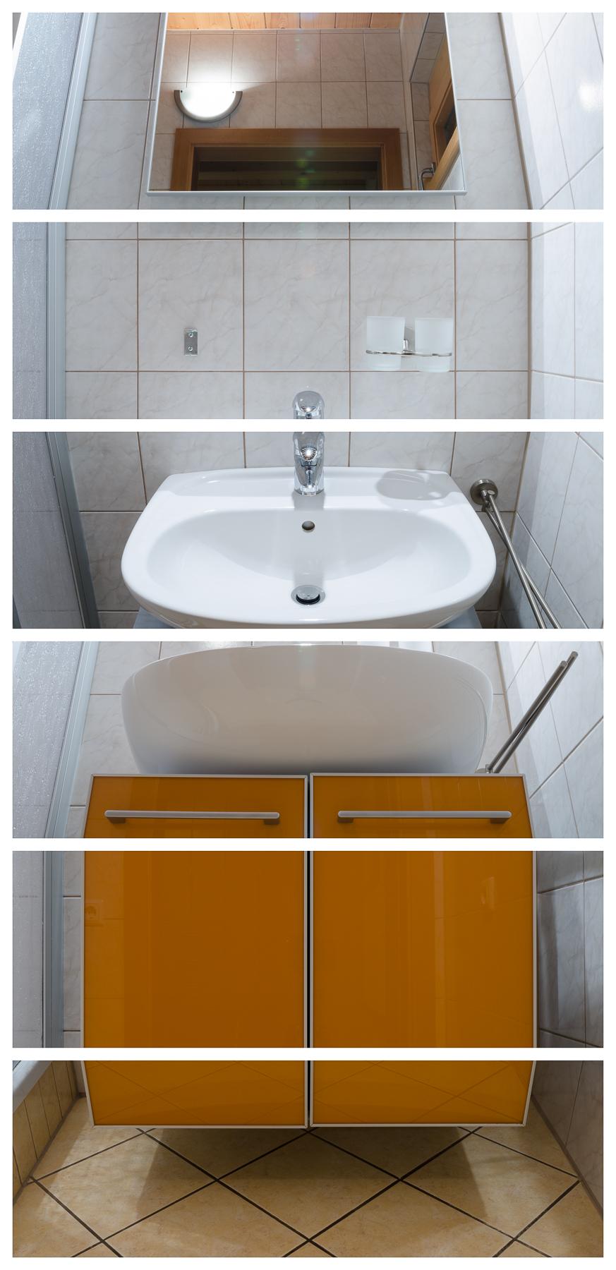 Waschbecken, 2017 Inkjet-Pigmentdruck 6-teilig zu je 78 × 26 cm