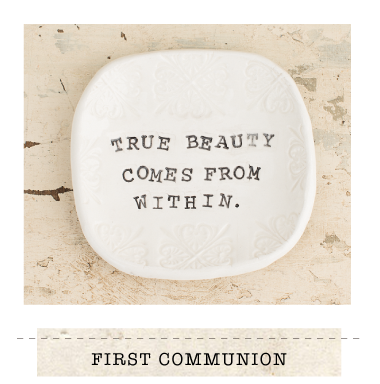 True Beauty Comes From Within Ring Dish