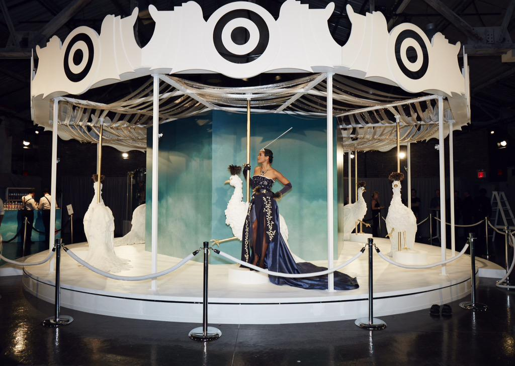 Target, in Vogue NYFW Kickoff Event 2015: Carousel