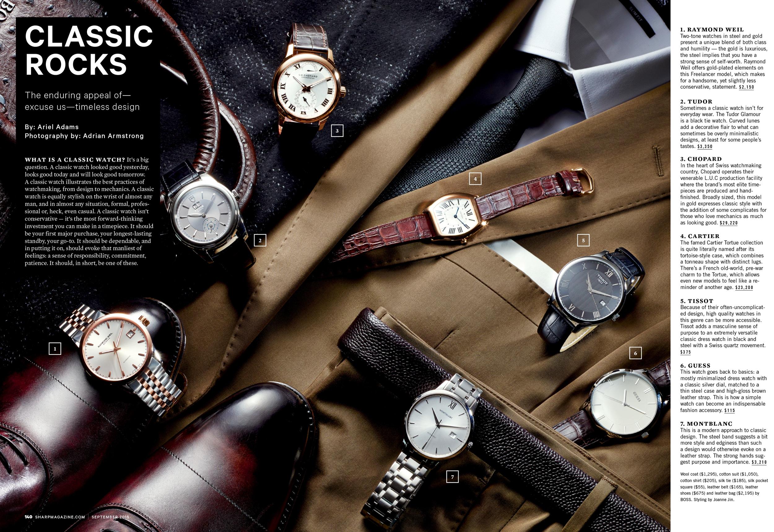 Sharp Magazine, Fall 2014
