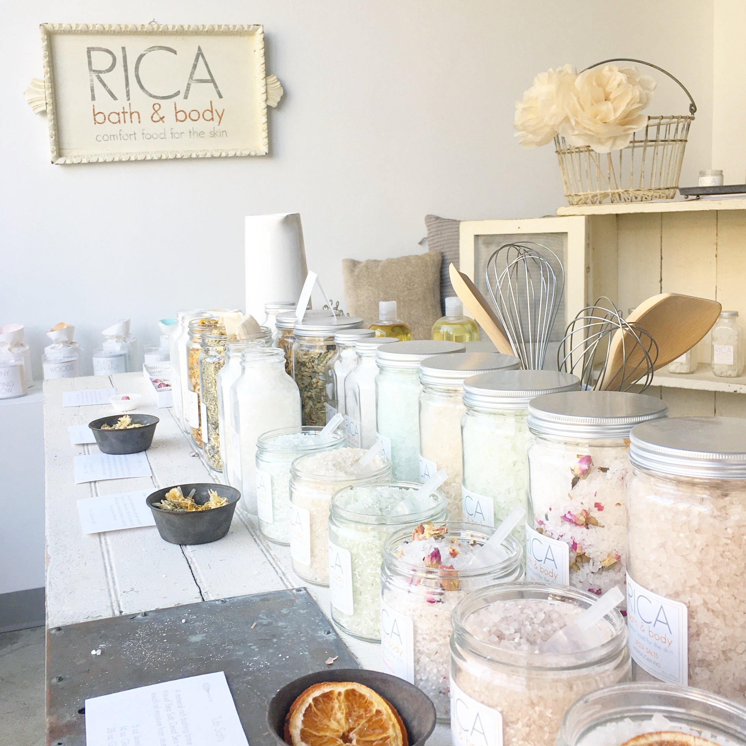 RICA bath + body Flagship Studio Shop in Brooklyn, NY