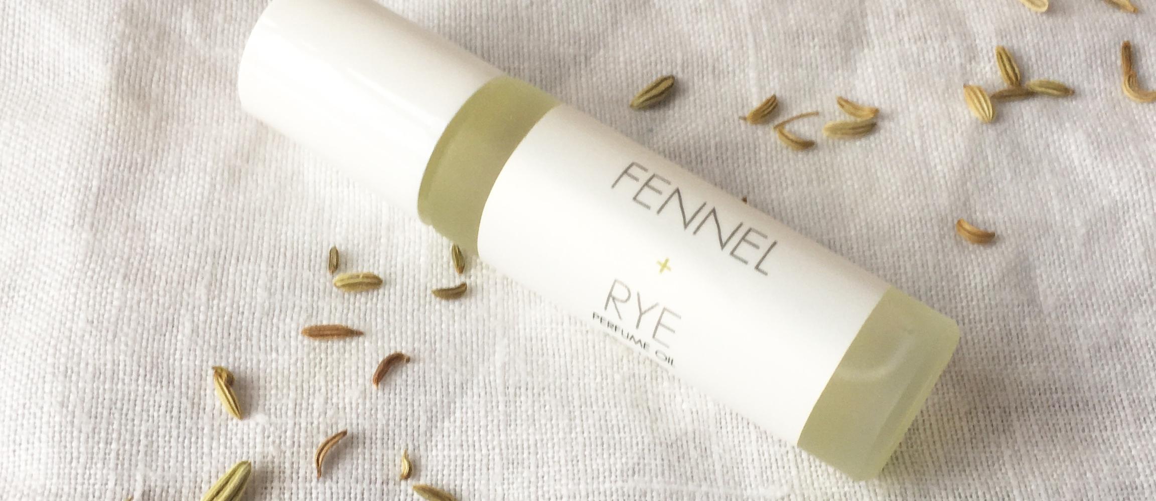 RICA bath + body Roll On Perfume Oil Fennel + Rye on white napkin.JPG