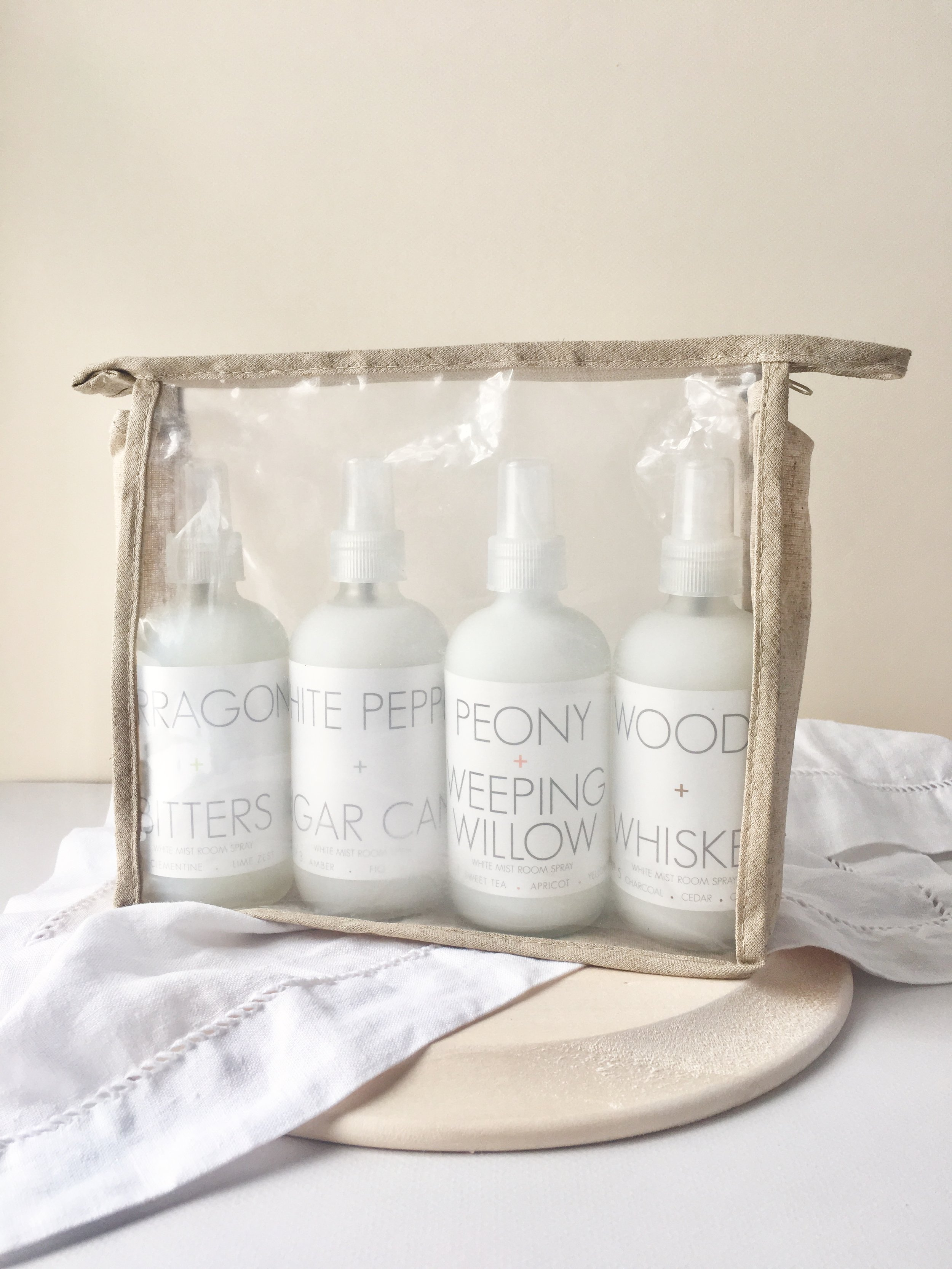 RICA bath + body White Mist Room Spray Collection in pouch.jpg