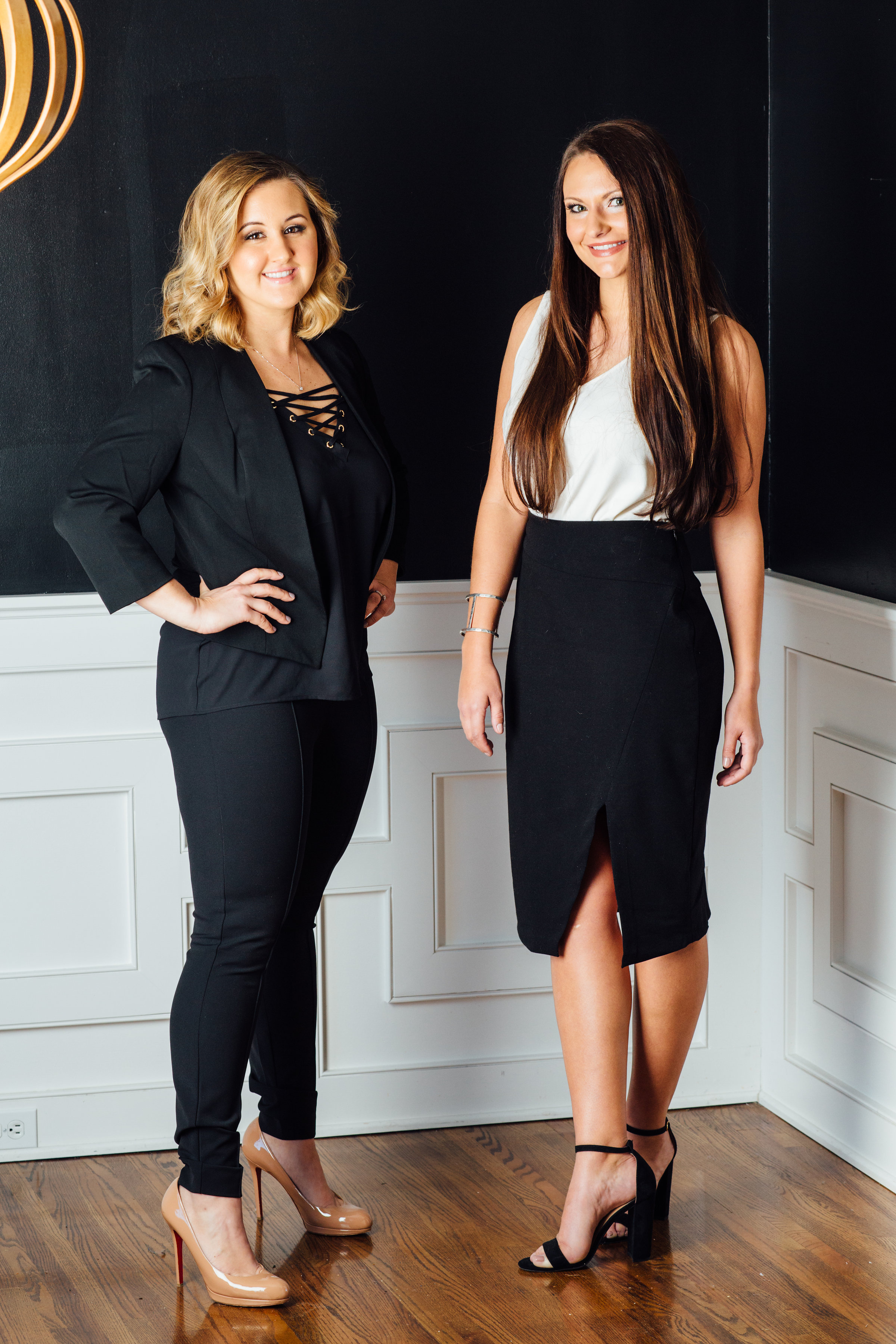 C2 Media Relations Owners Carly Caramanna and Chelsea Dartez