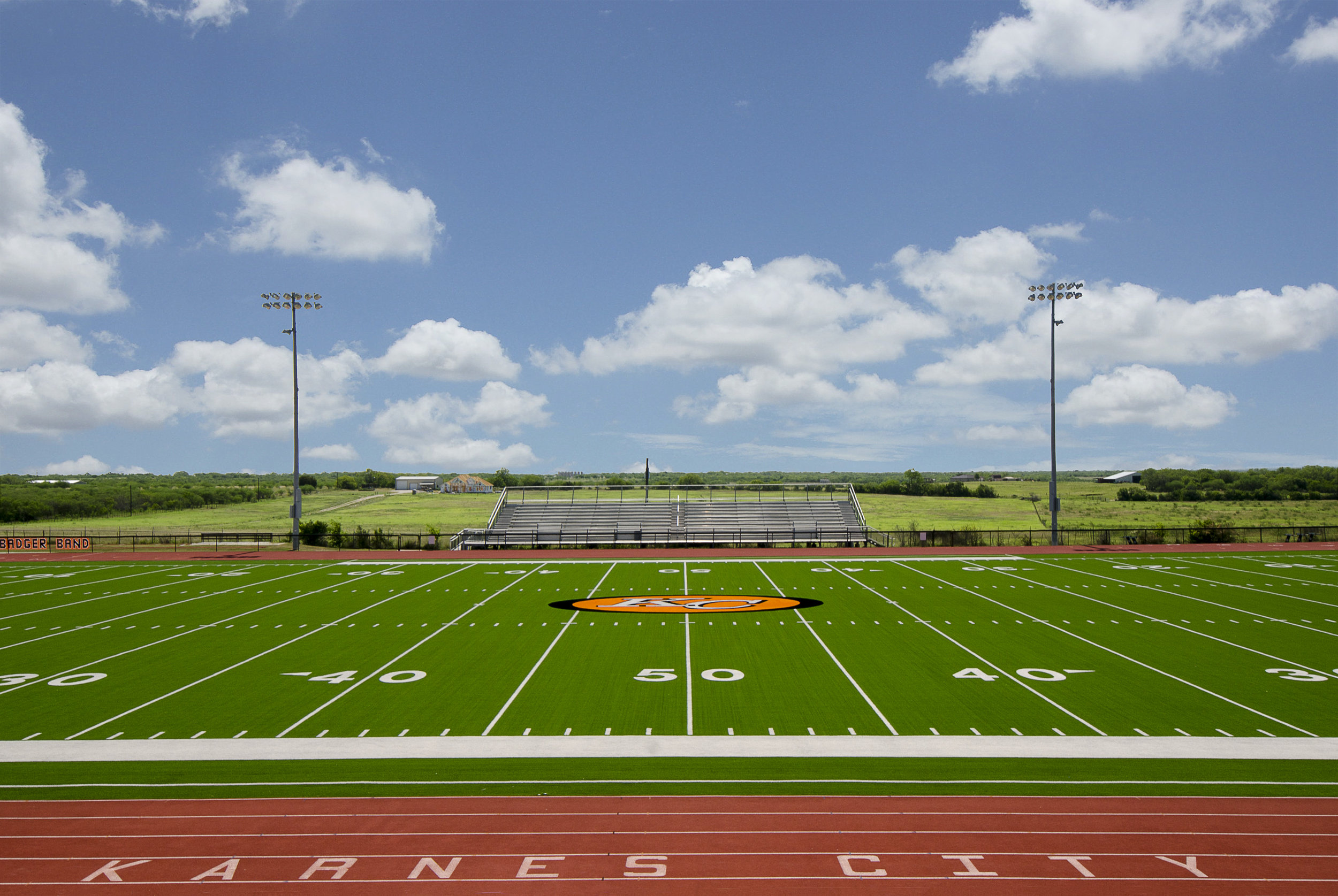 Karnes City Track, Synthetic Turf & Concessions