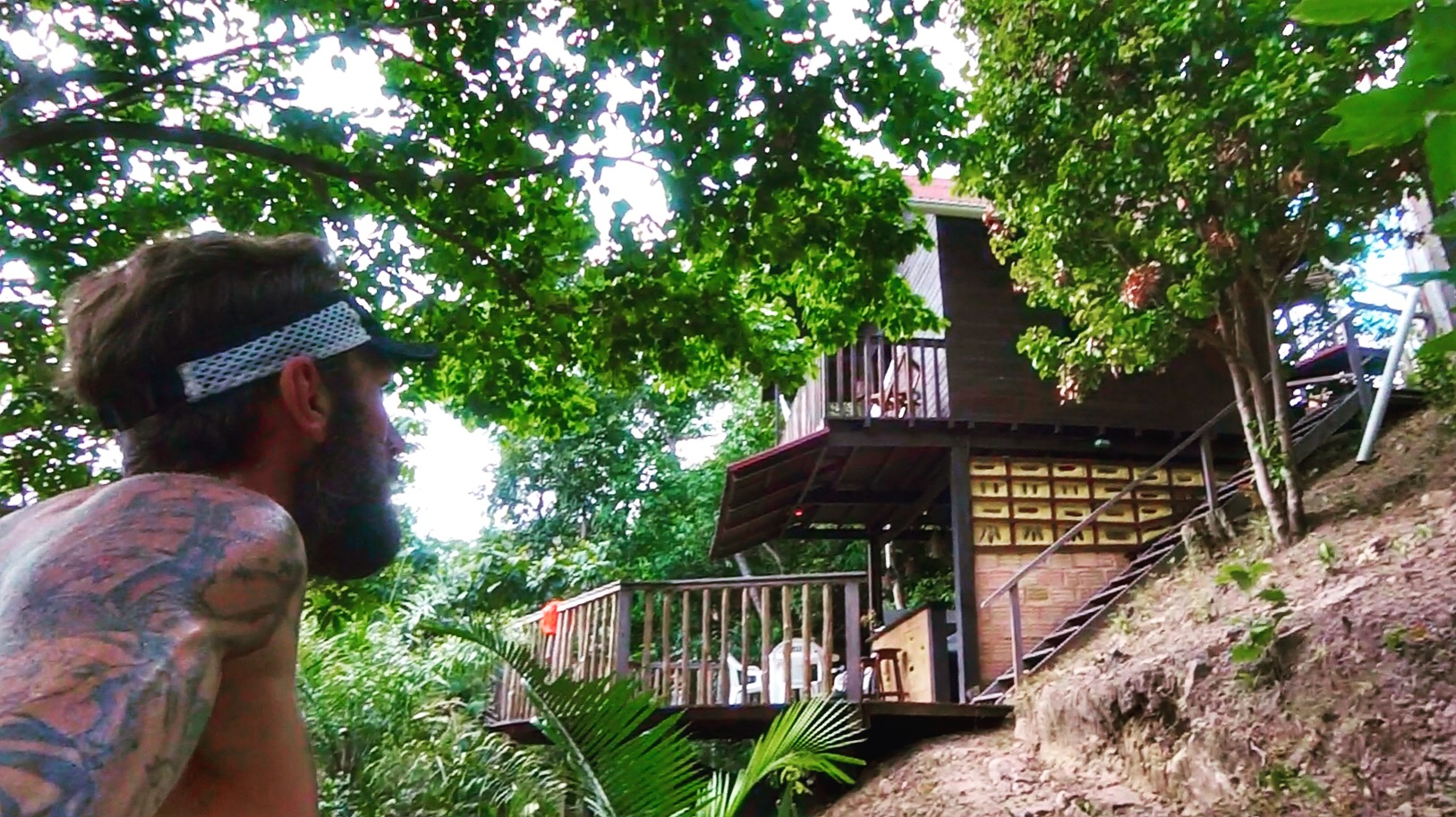 Picture:   Our accommodation in Alter do Chao sourced through Airbnb. Perfect for our last week of prep before Jungle Marathon 2017.
