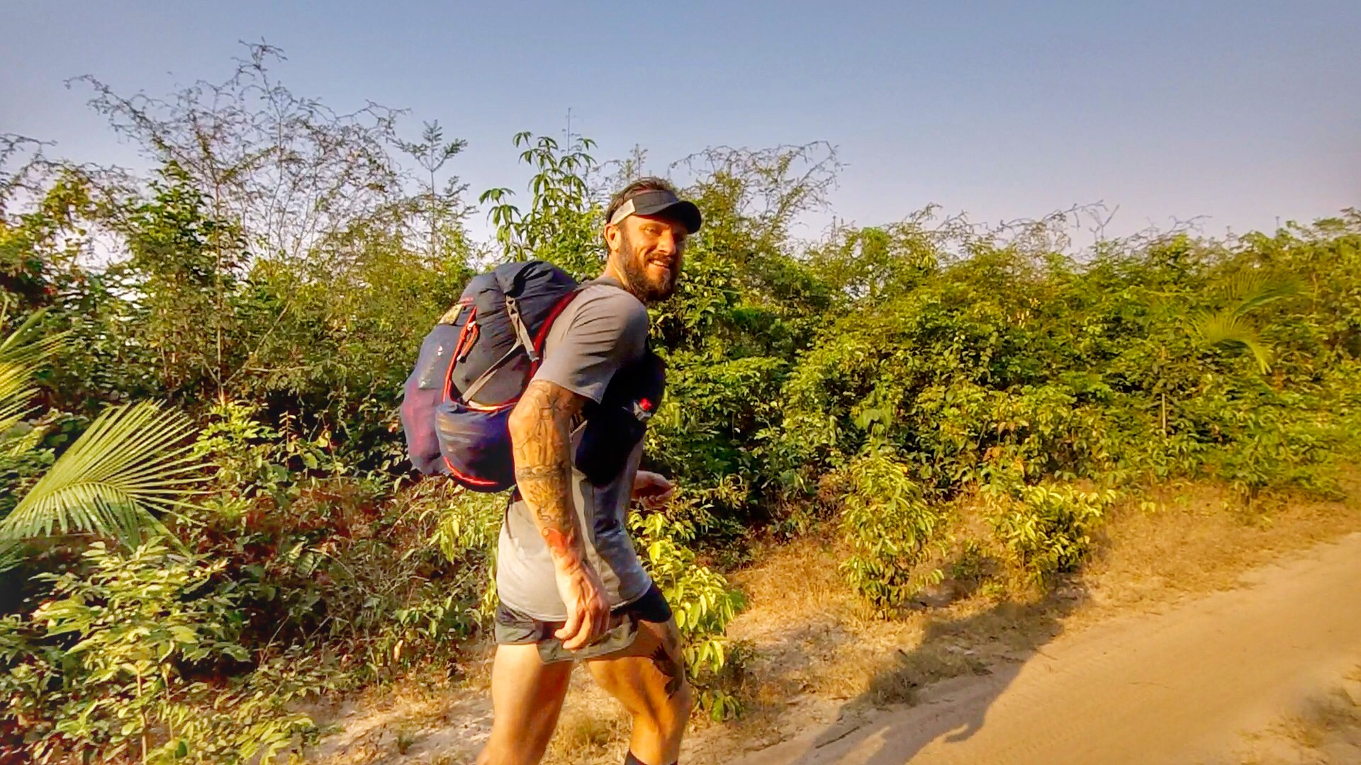 """Picture: Getting in a long run by heading to another small community, Vila Gorete. It was roughly 20-25 km's from   Coroca   and had my poor mate Beto wishing he hadn't translated """"we need a guide""""  successfully."""