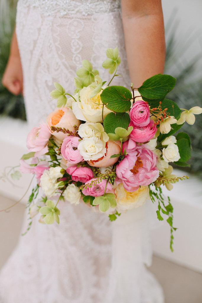 Bridal Bouquet Bridesmaid Pink Peony.jpg