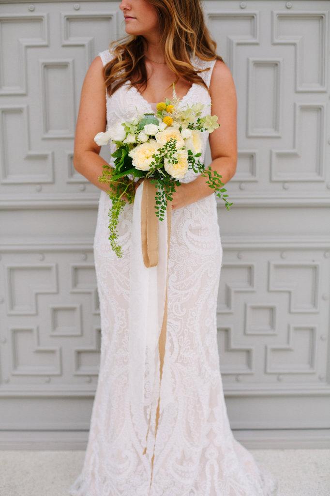 Unique setting amazing dress wedding dress flowers.jpg