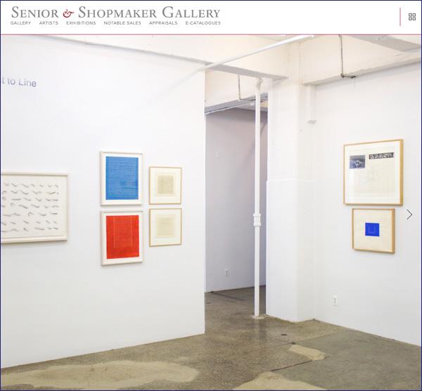 SENIOR & SHOPMAKER GALLERY