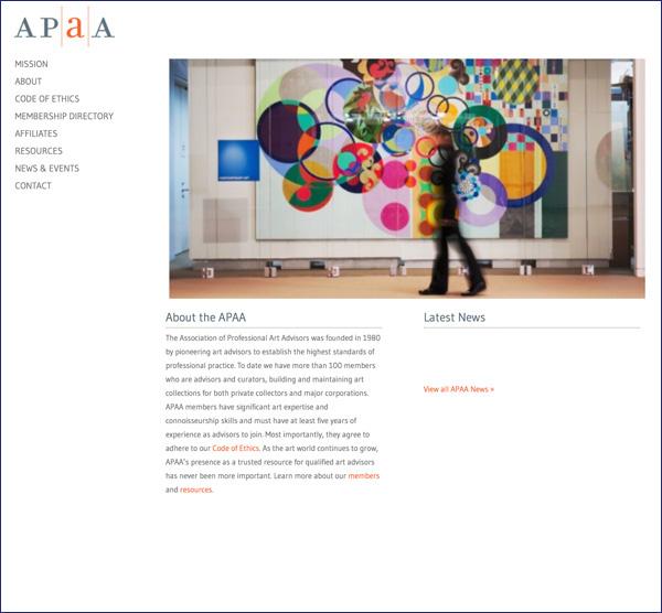 ASSOCIATION OF THE PROFESSIONAL ART ADVISORS