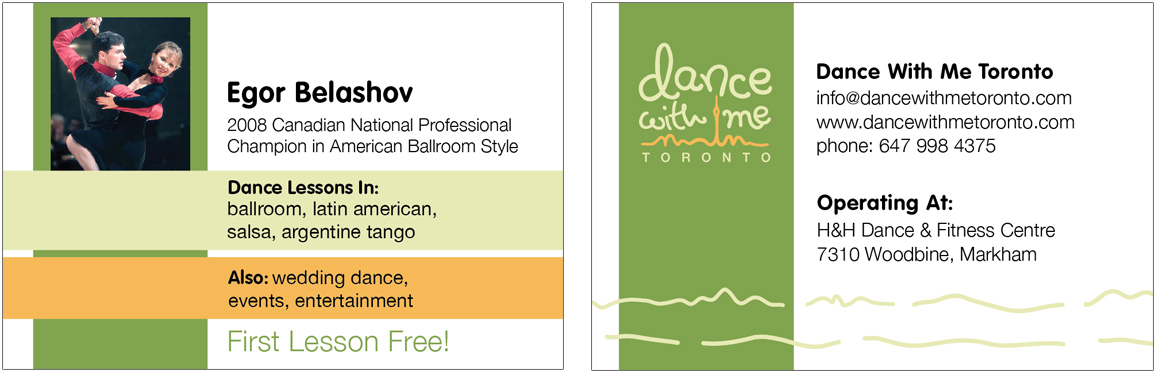 Personal Business Cards (  Professor)